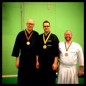 Tre medaljörer från Sölvesborg.